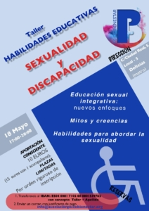 Taller de habilidades educativas: Sexualidad y discapacidad